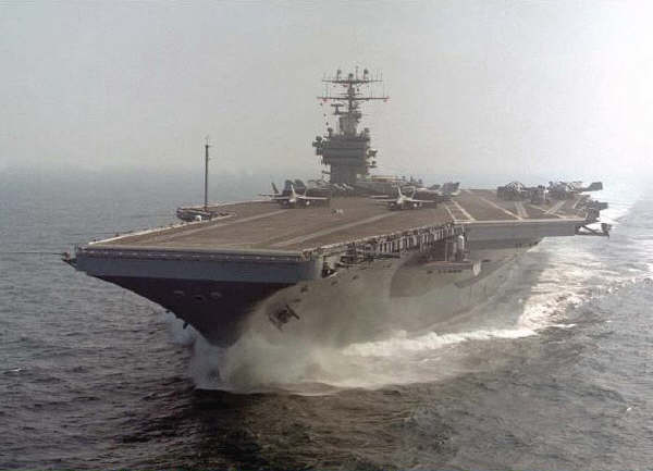 Vliegdekschip Uss Nimitz Amerikaanse Marine